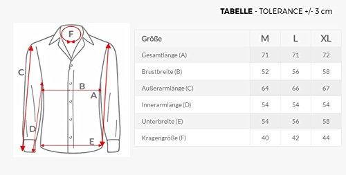 OZONEE Herren Klassisch Hemd Freizeithemd Langarm Shirt Casual Slim Fit RAW LUCCI 796 Blau_BR-1035/6