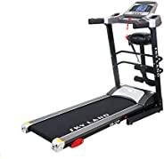 SKY LAND 2HP up to 4 HP Peak DC Motor Treadmill With Massager and Built-In Bluetooth Speaker (3 years motor wa