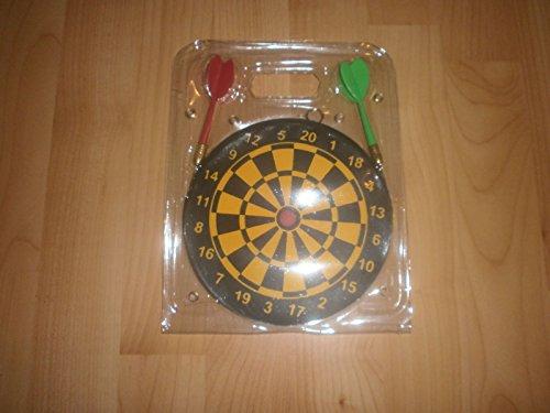 *Dart Dartspiel ca 15 cm mit 2 Pfeilen Dartscheibe Wurfspiel Scheibe*