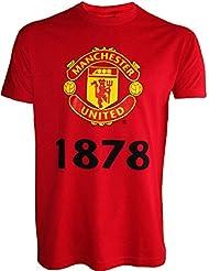 T-Shirt Manchester United, offizielle Kollektion, Kindergröße, für Jungen