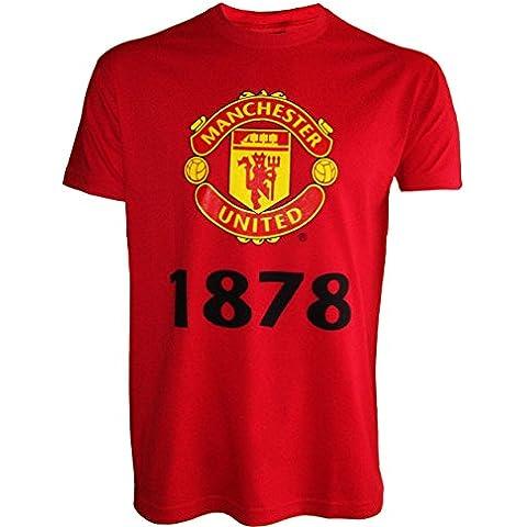 Manchester United-Maglia, collezione ufficiale, taglia adulto da