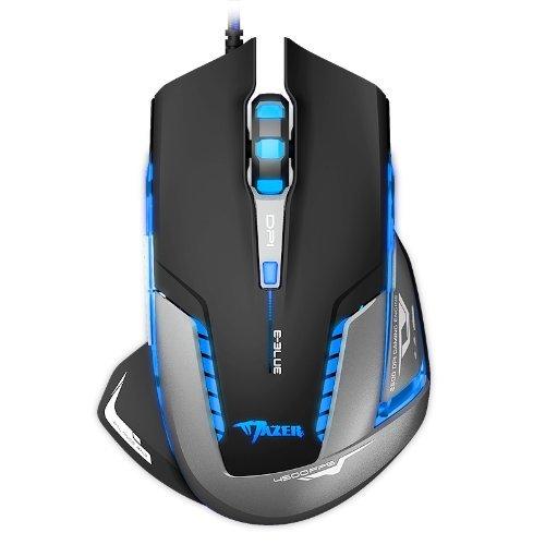E-3lue Mazer II E-blau 2500 dpi USB Optische Gaming Maus schnurgebunden blaue LED Verbraucher tragbaren Elektrogeräte/Geräte