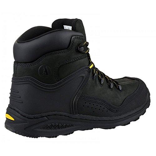 Amblers Steel , Chaussures de sécurité pour homme Noir - noir