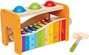 Hape - Pound & Tap Bench with Slide Out Xylop