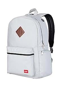 blnbag U4 - Sportrucksack mit Laptop- und Schuhfach, leichter Daypack, City Rucksack für Damen und Herren, Backpack unisex, 19 Liter - Grau