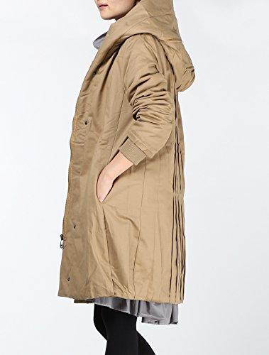 MatchLife -  Cappotto  - Donna Style1-Kaki