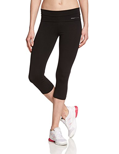ONLY PLAY, Pantaloni da Running Donna Fold Jazz Knickers Fit, Nero (Schwarz), 44