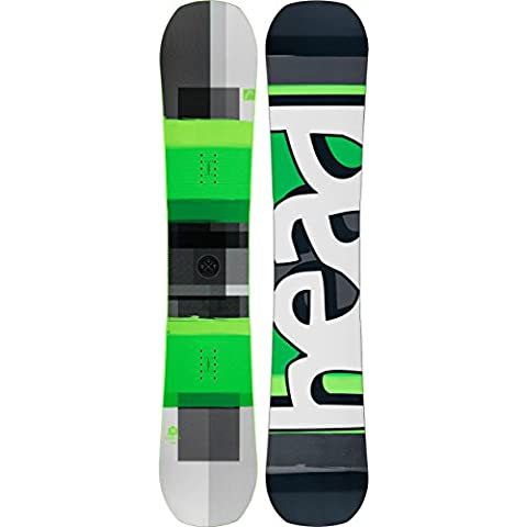 Head – Fijaciones daymaker DCT gris/verde/blanco + Head Soft de snowboard RX One Black