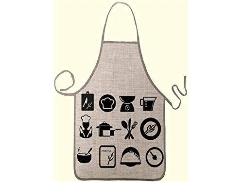 Guantai Home Hängender Hals Sleeveless erwachsenes Schutzblech Personalisiertes Küchen-Karikatur-Geschirr Gedrucktes Schutzblech