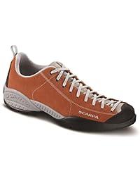 Scarpa - Zapatillas de senderismo de Piel para hombre naranja herrumbre