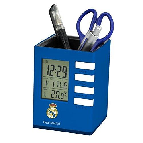 Real Madrid C.F. Seva cubilete reloj despertador 12x9