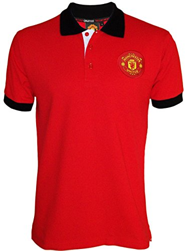 Polo Manchester United - Collection officielle - Taille adulte homme