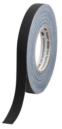 Scotch 9545N B19 Gewebeband 19 mm x 50 m, schwarz