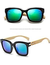 Meijunter Unisex Popular Bamboo Wood Sunglasses Full Frame Aviator Goggles Lunettes de soleil Eyewear UV400 sZAjMV7l3r