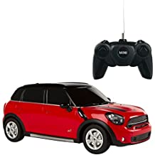 Rastar - Mini Countryman, coche teledirigido, escala 1:24, color rojo (ColorBaby 75992)
