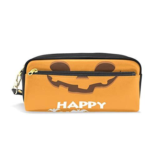 �rbis-Gesicht, tragbare Tasche aus PU-Leder für Schule, Stifteetui, Stifteetui, für Kinder, wasserdicht, Kosmetiktasche, Make-up, Beauty Case ()