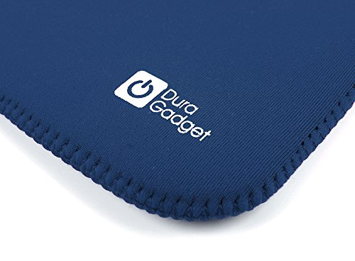 DURAGADGET Reversible 7 Inch Blue And Black Neoprene Water Resistant Cover For Kindle Paperwhite, Kindle Fire, Fire HD (September 2012 Release) & Kindle Fire 2 Tablet