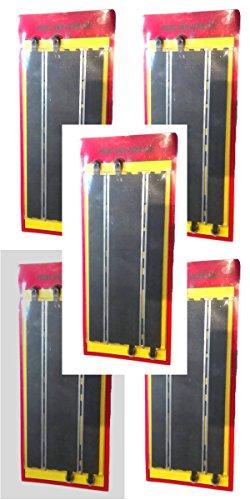 Plastunión Pack 10 rectas Pistas Slot para Scalextric 350mm LIQUIDACION