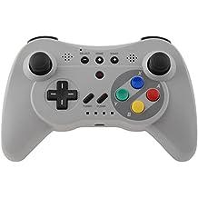 Gam3Gear Classic Pro controlador de juegos inal?mbrico Bluetooth para Nintendo Wii U Gris