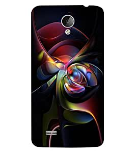 ColourCraft Abstract Image Design Back Case Cover for VIVO Y21L
