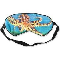 Eye Mask Eyeshade Octopus Color Drawing Sleep Mask Blindfold Eyepatch Adjustable Head Strap preisvergleich bei billige-tabletten.eu