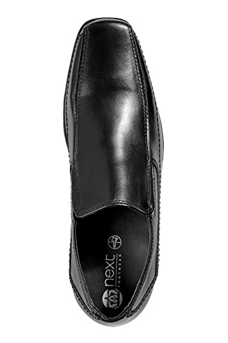 next Hommes Chaussures À Enfiler Avec Empiècement Noir