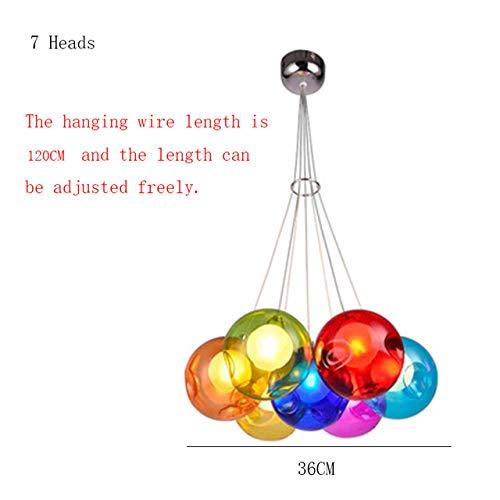 Instruments Pendelleuchten Led Aluminium Pendelleuchte Living Color Bubble Ball Pendelleuchten Home Decor HangLamp