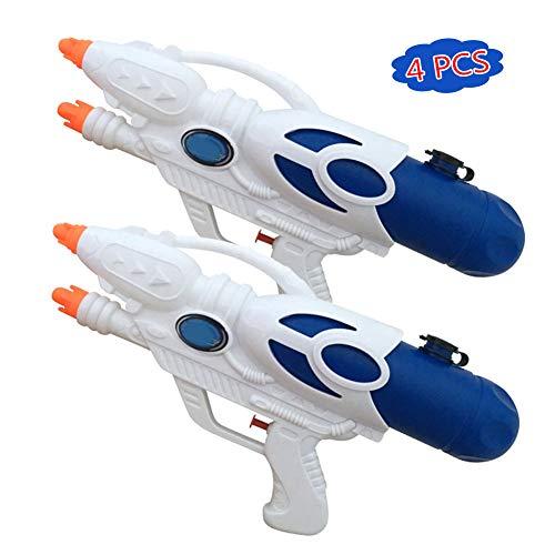 Spielzeug,4 Pack Super Squirt Pistole Hohe Kapazität Wasser Soaker für Kinder Jungen Mädchen Indoor Outdoor Schwimmbad Wasser Kampf Spielzeug Party Favors ()