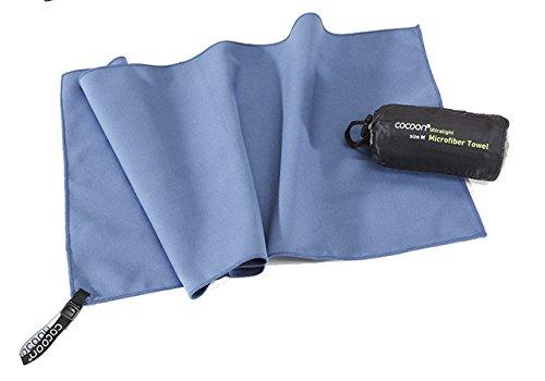 Cocoon Ultralight Towel, superleichtes Mikrofaser-/Sport-/Reisehandtuch (fjord blue, L)