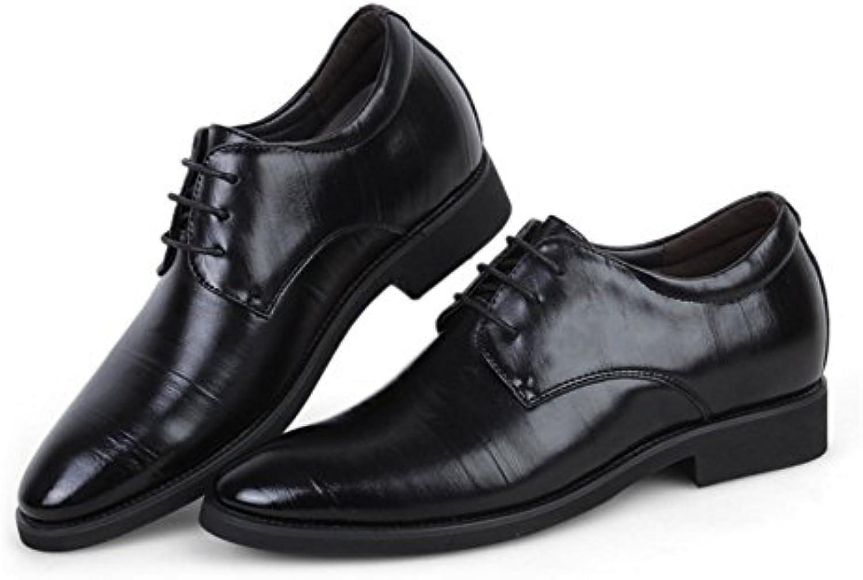 LYZGF Men Gentlemen Business Casual Fashion Scarpe in Pelle Pizzo Mezza età | Le vendite online  | Uomini/Donna Scarpa
