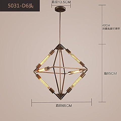 Ancernow E27 caldo creativo moda lampade a sospensione Diamond retrò, Lampadari per soggiorno, camera da letto, bar, caffetteria, ristorante, corridoio, camera bambini - 3 Linea Diamond Ring