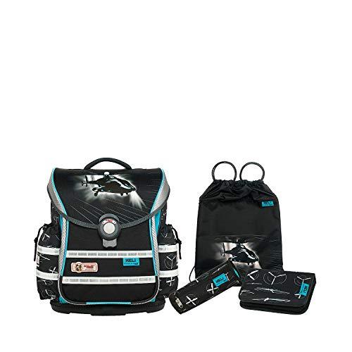 Schultaschen-Set McNeill ERGO Light Plus, 4-tlg., Heli
