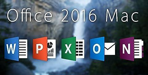 Microsoft Office für Mac 2016 DVD Disk Version