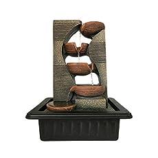 Dehner 4022695Habitaciones Brunnen Piedra Jarra con iluminación LED, polirresina, Gris, 40x 23x 31cm