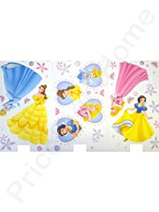 Disney Princess Deco Wall Stickers. Contains approx 40 stickers