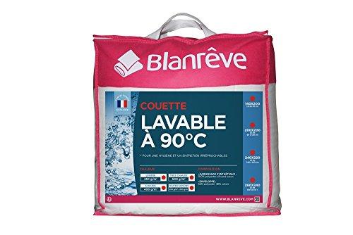 Blanrêve Couette Lavable à 90°C Légère 260 x 240