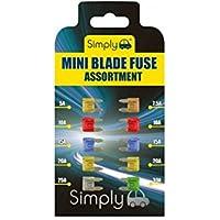 Draper 100 Piece Mini Automotive Plug-In Fuse Assortment FUSE//MINI 100 24311