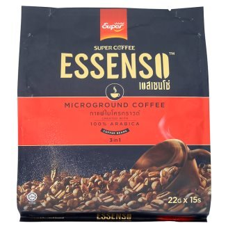 15 bastoncini in confezione: Essenso, 3 in 1 Microground Coffee, 330 g