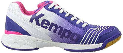 Kempa - Attack Three Women, Scarpe Pallamano da donna Multicolore (elektrikblau/weiß/pink)