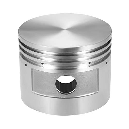sourcing map Luftkompressor Motor Kolben Aluminiumlegierung 90mm dm. 70mm Höhe 20mm Bohrung