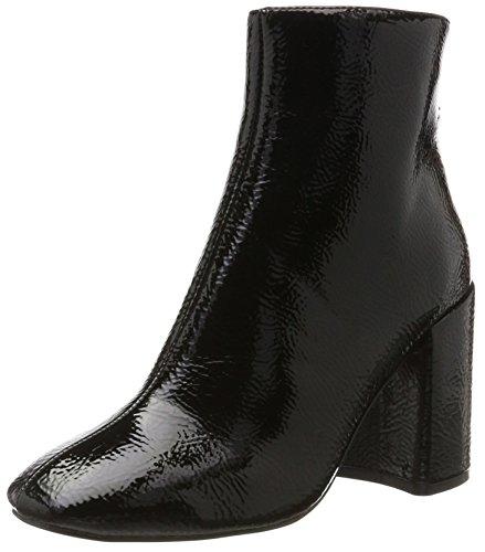 Steve Madden Damen Posed Ankleboot Stiefel, Schwarz (Black), 40 EU