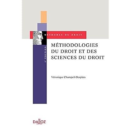 Méthodologies du droit et des sciences du droit - 2e éd.