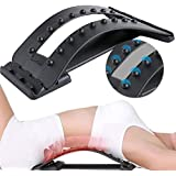 Orthopedic Back Lumbar Sciatica Nerve Stretcher,Home Cushion Neck Spine Back Pain Massager, for Office Chair and Pain Relief