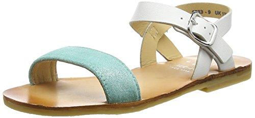 Start Rite Flora II, Sandales fille Turquoise (Aqua Sparkle)