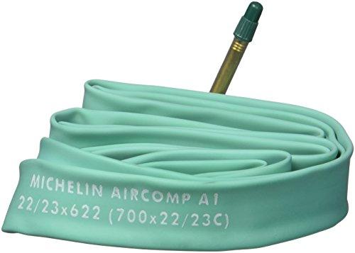 Michelin Fahrradschlauch A1 Aircomp Latex  22/23-622, SV 60 mm, 28 Zoll, 1132810400 (Latex Schlauch Fahrrad)