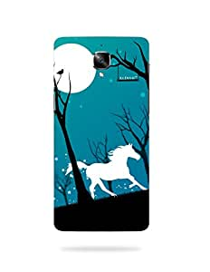alDivo Premium Quality Printed Mobile Back Cover For One Plus 3 / One Plus 3 Back Case Cover (MKD169)