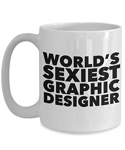 Taza de café de cerámica del regalo gráfico más atractivo de la taza del diseñador del mundo