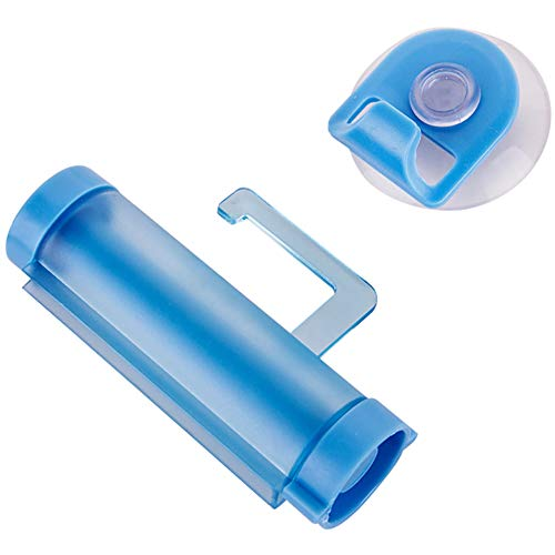 Beito Rollende Zahnpasta Squeezer Tube Zahnpasta Spender Squeezer Sucker Holder Hänger Gadget (Zufalls Farbe)
