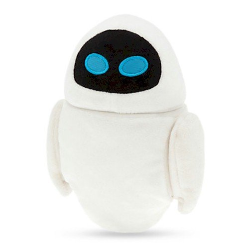 Disney EVE Plush - Mini Bean Bag - 7'' by Wall-E - Mini-bean-bag