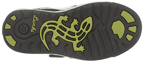 Lurchi Jungen Bruce Low-Top Mehrfarbig (charcoal white 25)